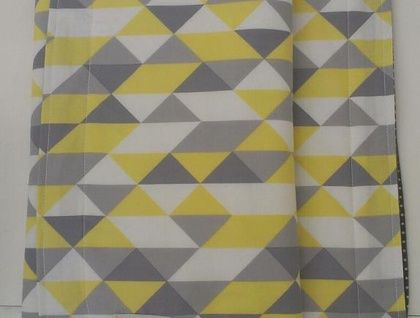 Organic Baby's Blanket (Geometric Triangles) from Empire Eco Designs