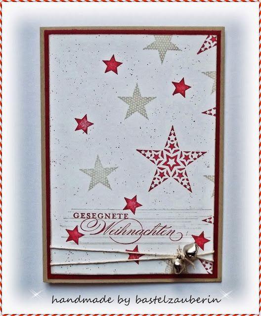 Simply Stars Weihnachtskarte Simply Stars Christmas card
