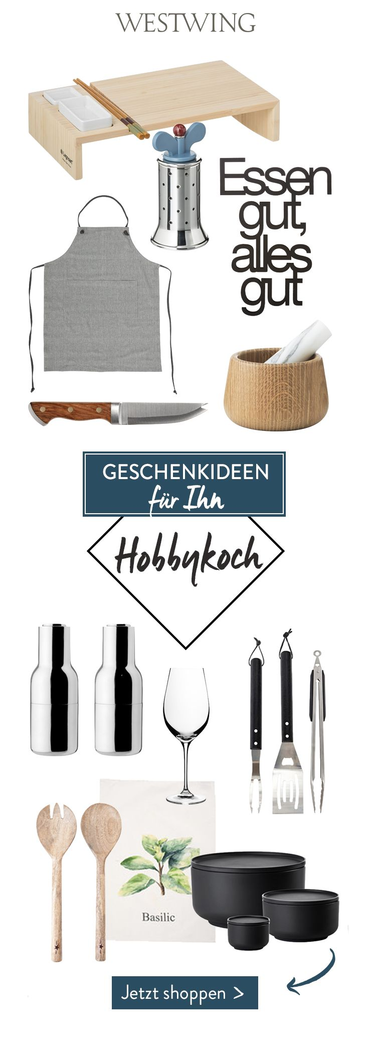 geschenkideen f r ihn hobbykoch dein vater ehemann oder freund liebt es zu kochen und neue. Black Bedroom Furniture Sets. Home Design Ideas