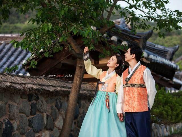 한복 Hanbok : Korean traditional clothes[dress] bettl hanbok #modernhanbok #wedding #hanbok