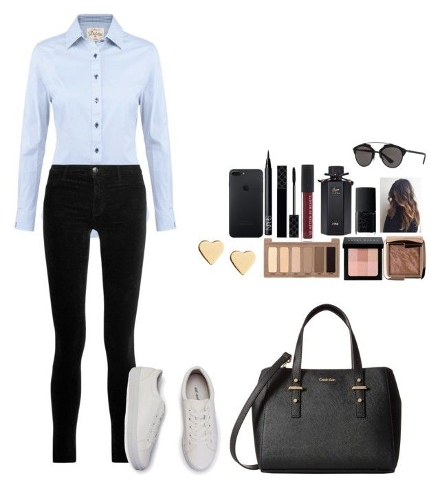 """""""Untitled #444"""" by mariapangal on Polyvore featuring DUBARRY, J Brand, Calvin Klein, Lipsy, Urban Decay, Bobbi Brown Cosmetics, Hourglass Cosmetics, NARS Cosmetics, Gucci and Christian Dior"""