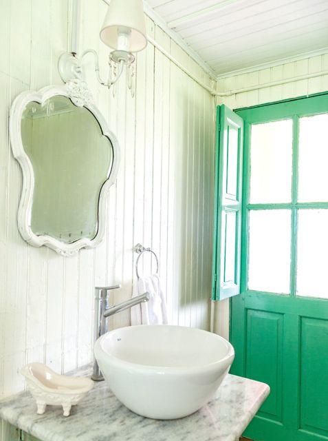 Las 25 mejores ideas sobre cuartos de ba o verde mar en for Cuartos de bano verdes