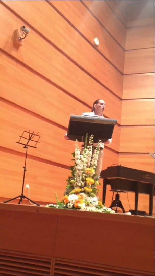 Discurso de Graduación Padrino Educación Infantil 2014 UCA