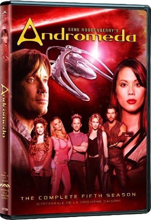 Andromeda a été une série télé inspiré d'un livre de Gene Roddenbury, créateur de Star Trek, diffusée de 2000 à 2005