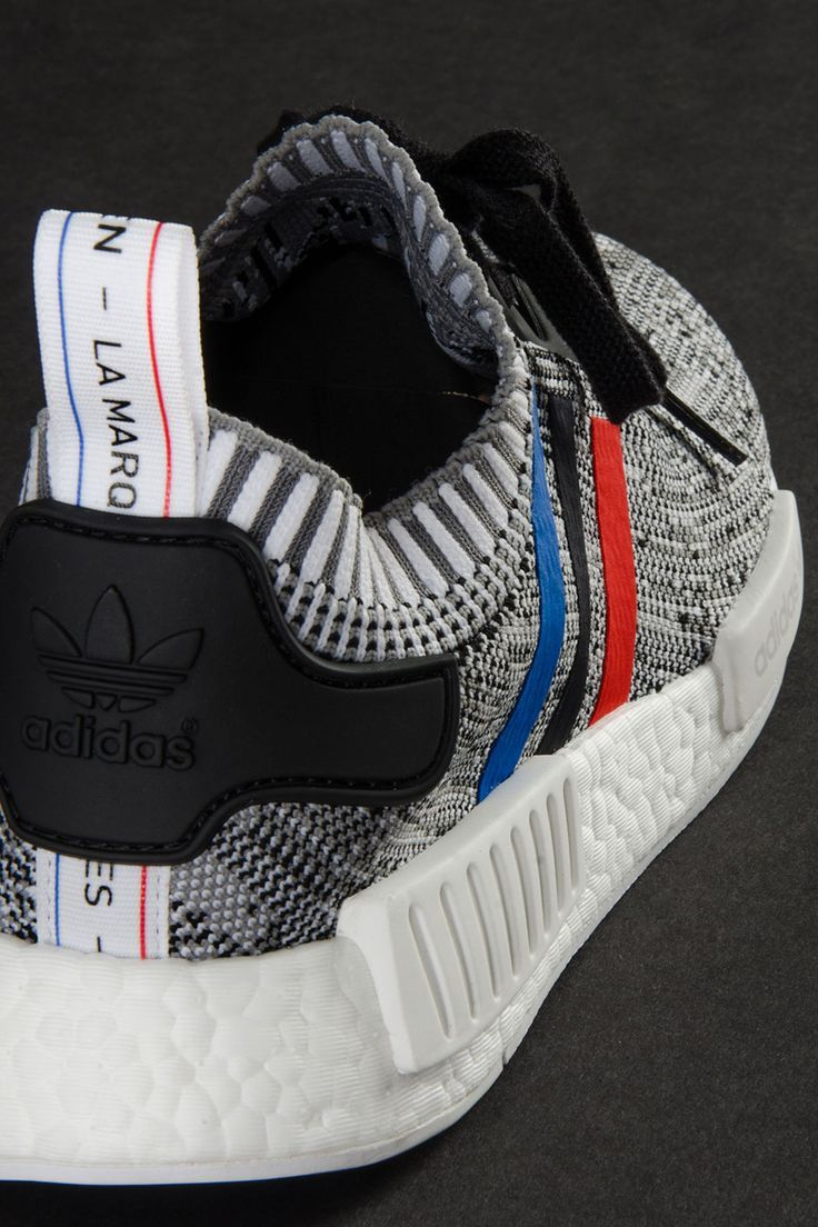 "610e8fd9b3cc0 A Detailed Look At The adidas NMD R1 Primeknit ""Tri-Color"" Pack"