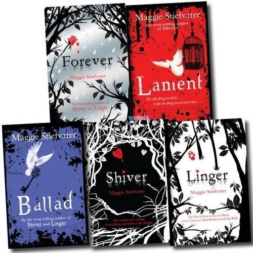 Shiver series and Books of Faerie Novels by Maggie Stiefvater