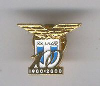 DISTINTIVO SPILLA PIN BADGE ANSTECKNADEL CALCIO Lazio 100 anniversario