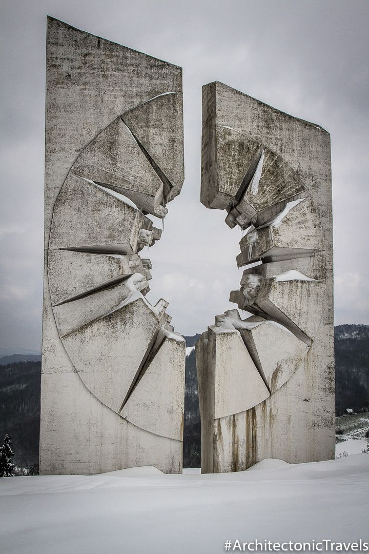 Kadinjaca Memorial Complex Architecture Art Beautiful