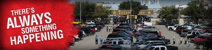 LOVE trader's village in Dallas/FWorth, its a HUGE flea market where you can find anything you want!