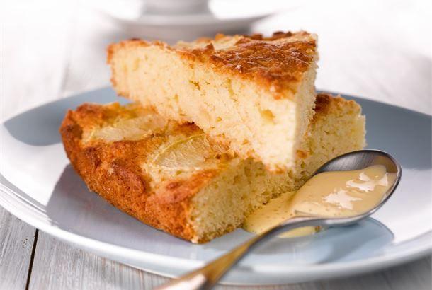 Omenainen pikapulla valmistuu helposti ja nopeasti, kun haluat saada pikaisesti tarjottavaa kahvipöytään. http://www.valio.fi/reseptit/omenainen-pikapulla/ #resepti #ruoka