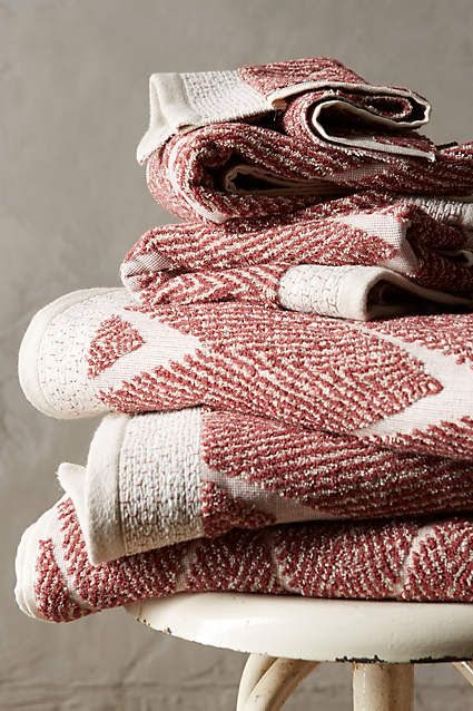 anthropologie com   For Chevron fuel   anthrofave review Woven the band Collection and       Chevron Home Towel Towels
