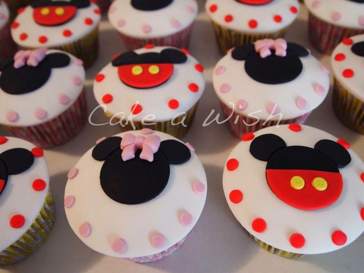 #micky #minnie #cupcakes