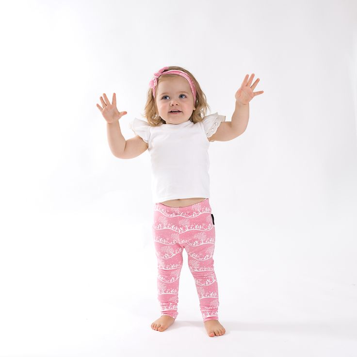 Aster & Oak Organic ENCHANTED Meadow Leggings. www.asterandoak.com.au