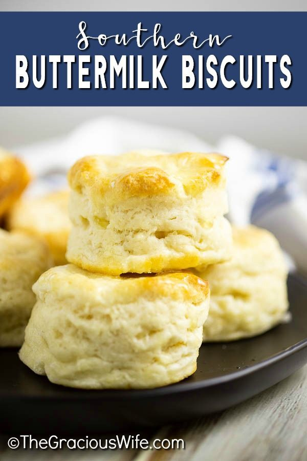 These Simple Homemade Southern Buttermilk Biscuits Are Flaky And