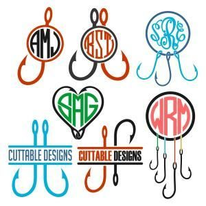 Fishing Hooks Monogram Split, Heart Shape and Round Circle Frame Cuttable Design Cut File. Vector, Clipart, Digital Scrapbooking Download, Available in JPEG, PDF, EPS, DXF and SVG. Works with Cricut, Design Space, Sure Cuts A Lot, Make the Cut!, Inkscape, CorelDraw, Adobe Illustrator, Silhouette Cameo, Brother ScanNCut and other compatible software. - casual shirts, shirt shirt, black shirt mens slim fit *ad