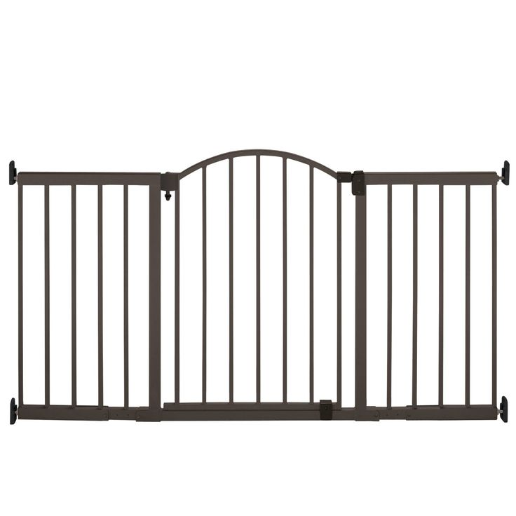 Summer Infant Metal Expansion Gate, 6 Foot Wide Extra Tall Walk-Thru ** Awesome product. Click the image (This is an amazon affiliate link. I may earn commission from it)