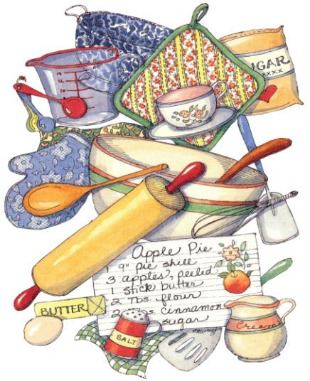 633 Best Kitchen Clipart Images On Drawings And Clip Art