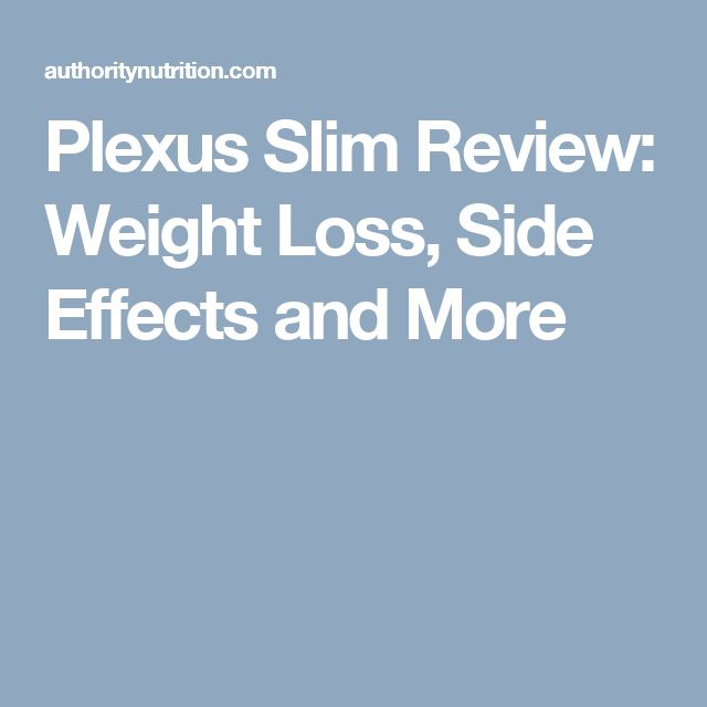 Plexus Slim Review: Weight Loss, Side Effects and More
