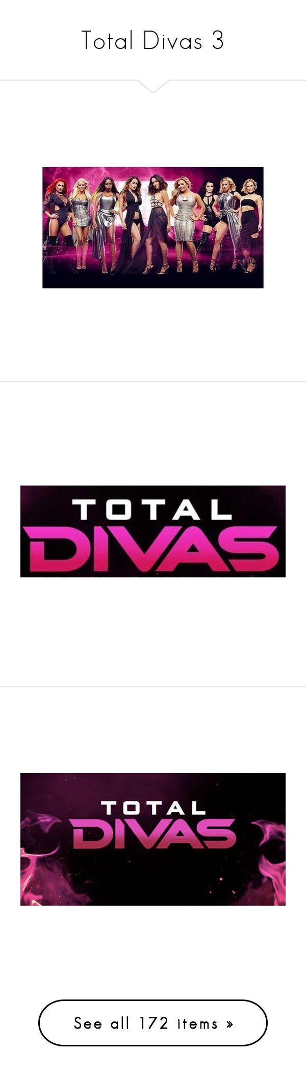"""""""Total Divas 3"""" by wwetnagirl ❤ liked on Polyvore featuring jewelry, home, home decor, frames, total divas, wwe, paige and juicy couture"""