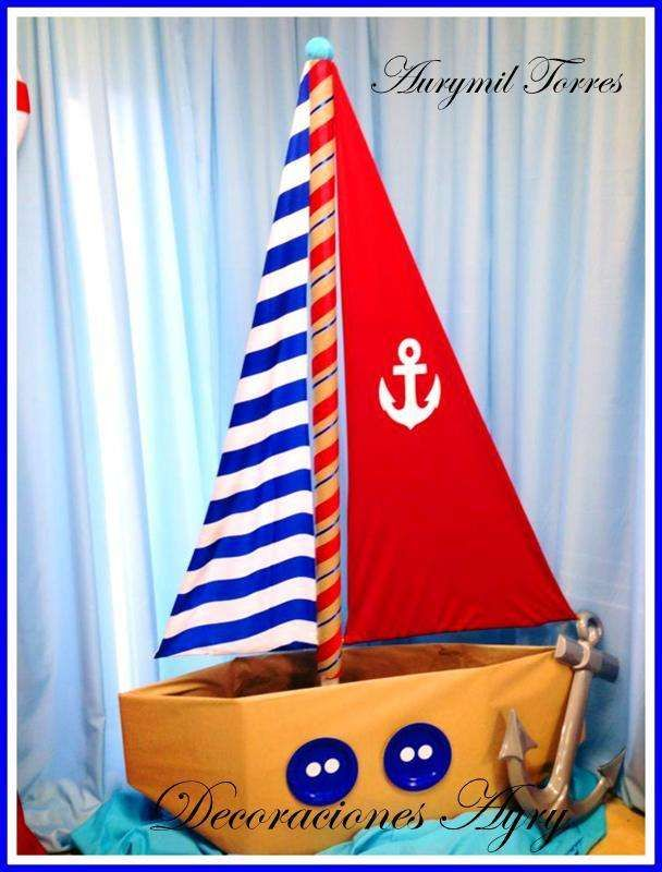 Nautical Birthday Party Ideas | Photo 1 of 30 | Catch My Party