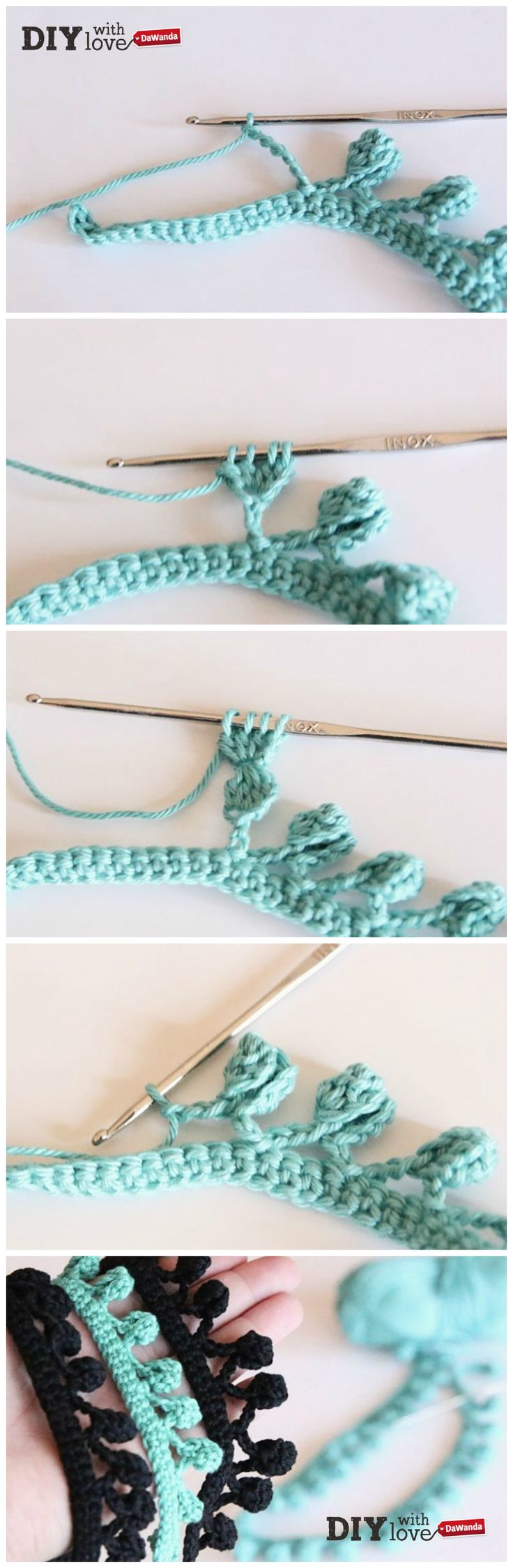 49 best adornos bolsos images on Pinterest | Knits, Crocheted bags ...