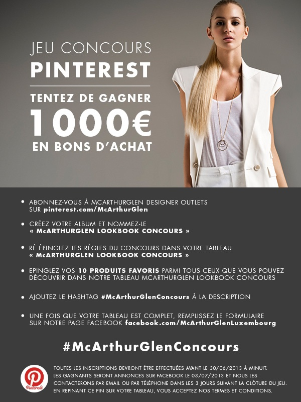 #McArthurGlenConcours Luxembourg