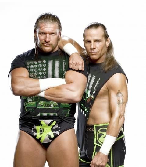 Triple H & HBK Shawn Michaels