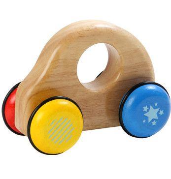 Wooden Push Car -  Roll'n'Roll