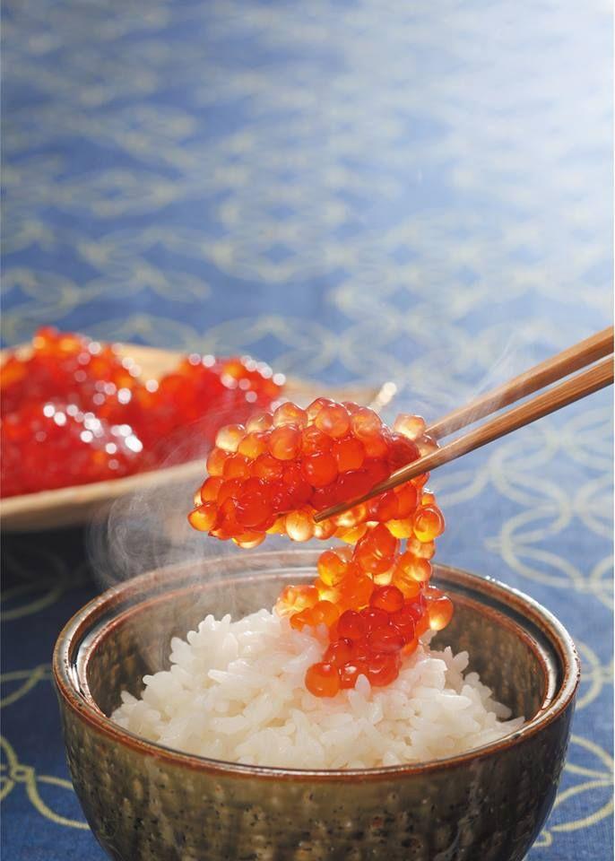 Salmon roe, Ikura いくら すじこ