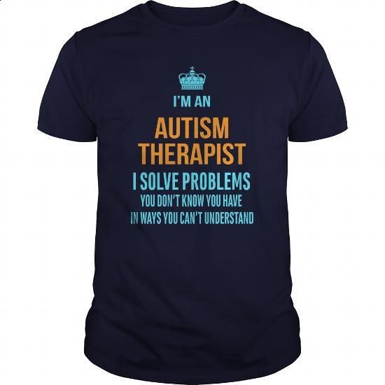 Autism Therapist - #t shirts for sale #t shirt websites. ORDER NOW => https://www.sunfrog.com/LifeStyle/Autism-Therapist-Navy-Blue-Guys.html?60505