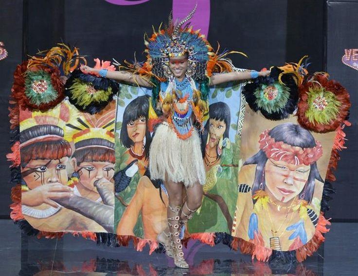 Национальный костюм индейцев южной америки