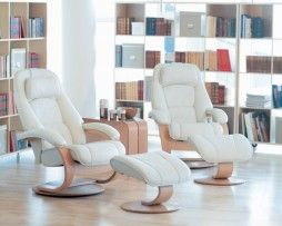 Ergonomically designed to provide continuous support and comfort. Your legs and back will love it, indeed your whole body will feel more energized from the relaxing support only Fjords' chairs offer.