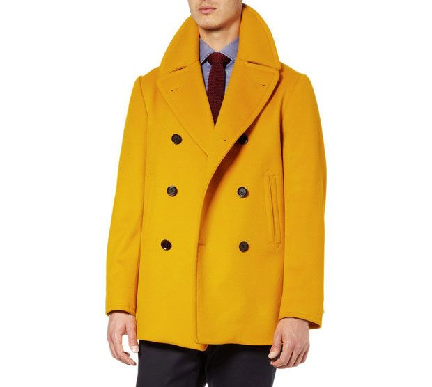 matches. ($ - $) Find great deals on the latest styles of Yellow pea coat. Compare prices & save money on Men's Clothing.
