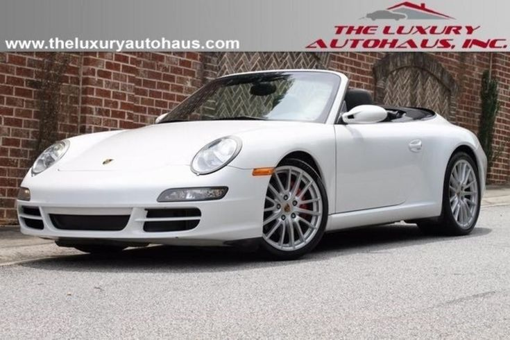 cool Great 2007 Porsche 911 Carrera S NIADA Certified Pre-Owned 2007 Porsche 911 Carrera S 56596 Miles Carrera White 2 2018-2019 Check more at http://24carshop.com/product/great-2007-porsche-911-carrera-s-niada-certified-pre-owned-2007-porsche-911-carrera-s-56596-miles-carrera-white-2-2018-2019/