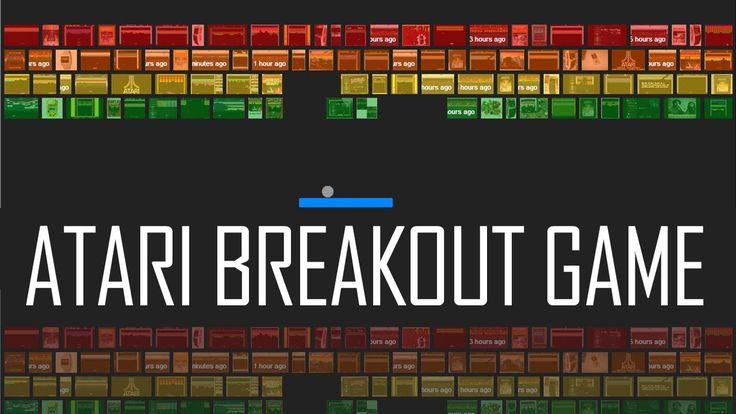 #atari_breakout, #atari_breakout_game, #game_atari_breakout Breakout is an arcade game developed and published by Atari, Inc. Your mission is to make the ball fly and touch the blocks in the above of the paddle. http://ataribreakout.org/atari-breakout-game-play