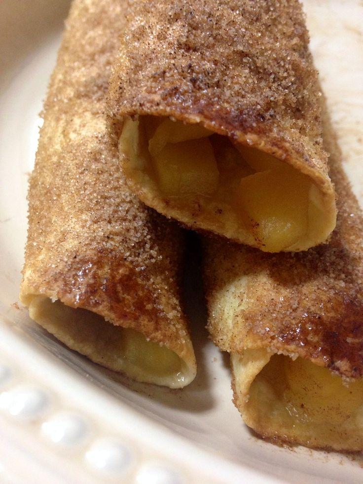 Easy Apple Cinnamon roll ups — Krystle's Corner