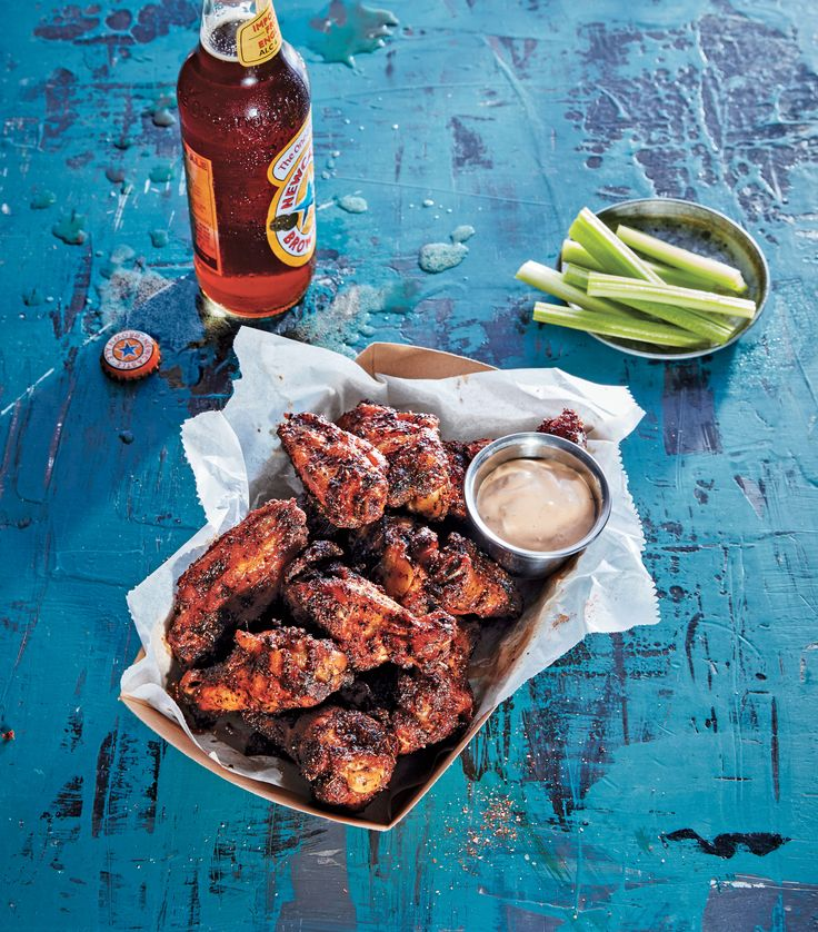 Dry-Rubbed Smoked Chicken Wings Recipe