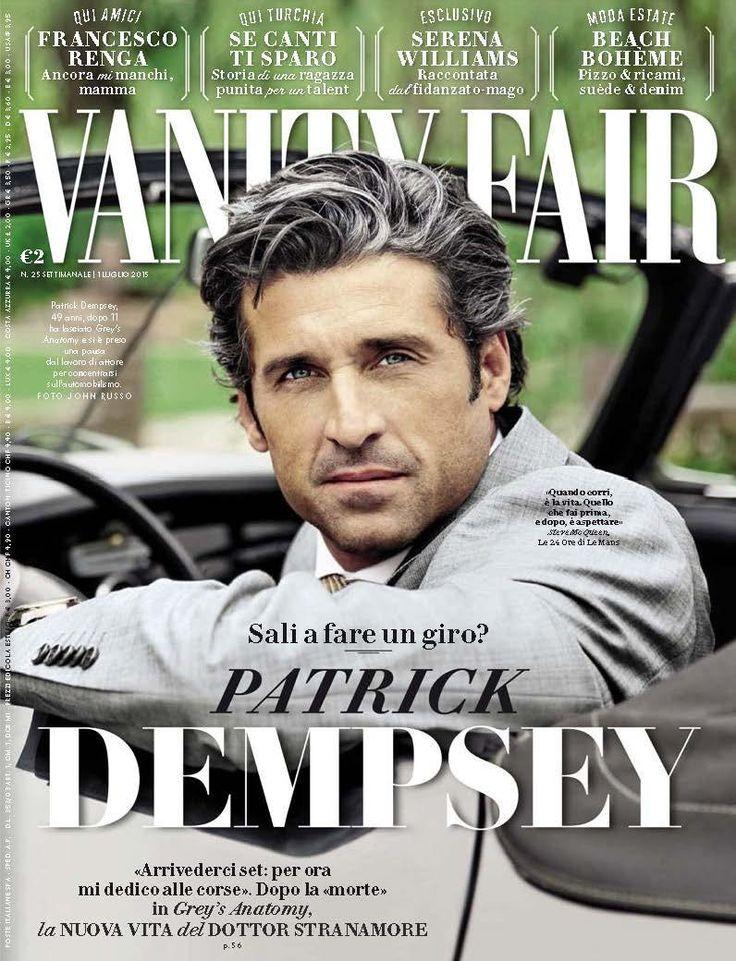 Patrick Dempsey para Vanity Fair Italia Julio 2015