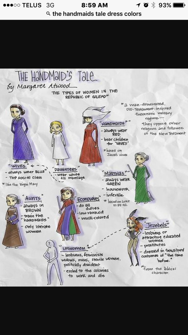 The Different Classes Of Women In The Handmaids Tale