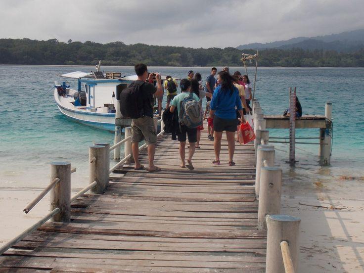 Pulau Peucang, Wisata Taman Laut Ujungkulon