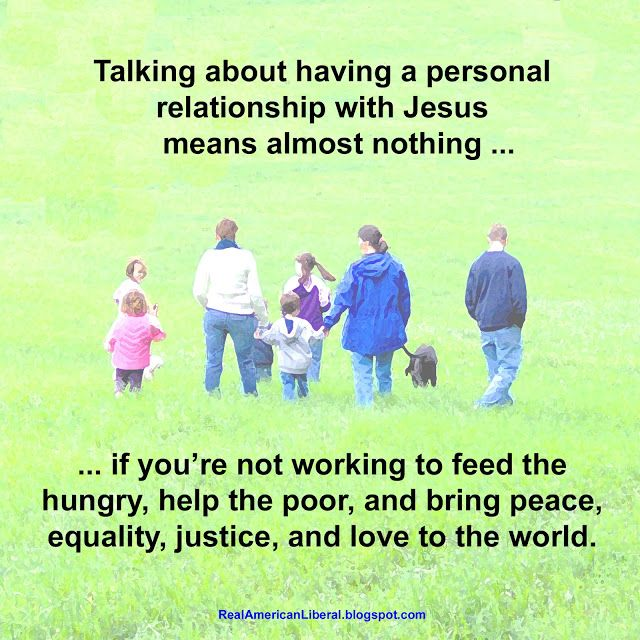 what is personal relationship with jesus