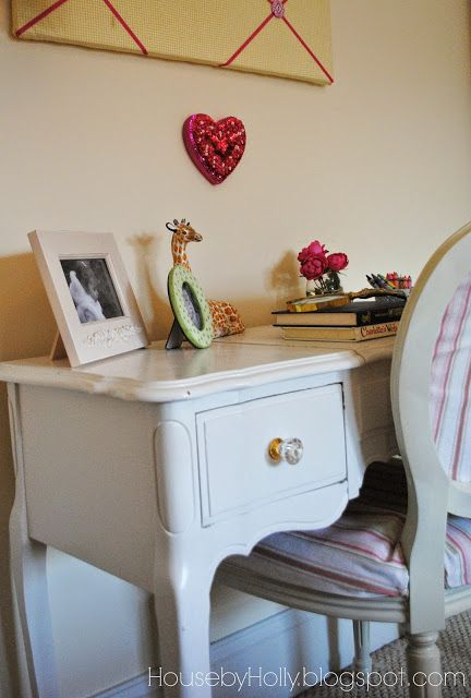 House by Holly: A Sophisticated Girls Room | One Adventure at a Time Any room takes time to evolve.   Layer upon layer is what tells a story.. Here's the latest version of my daughter's room and how I decorated it--One adventure at a time.