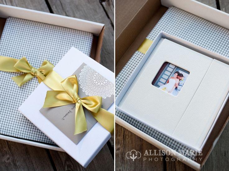 Beautiful Wedding DVD Packaging Allisonmariephotographyblog Photographer