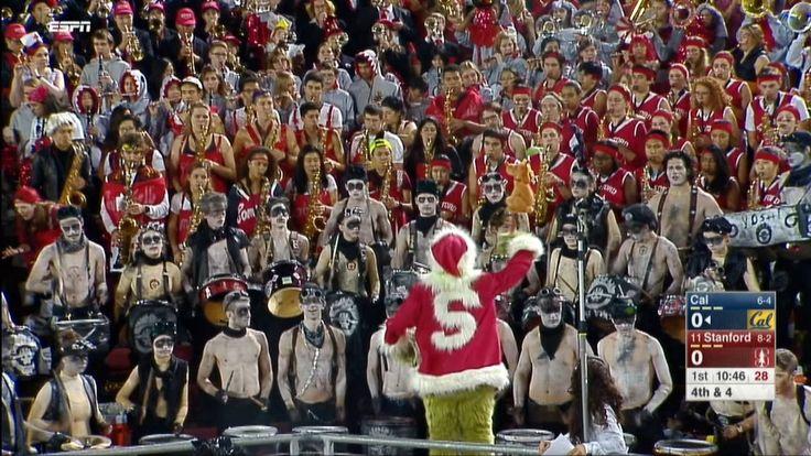 Stanford band members go 'Mad Max,' dress as War...: Stanford band members go 'Mad Max,' dress as War Boys #RoseBowl… #RoseBowl