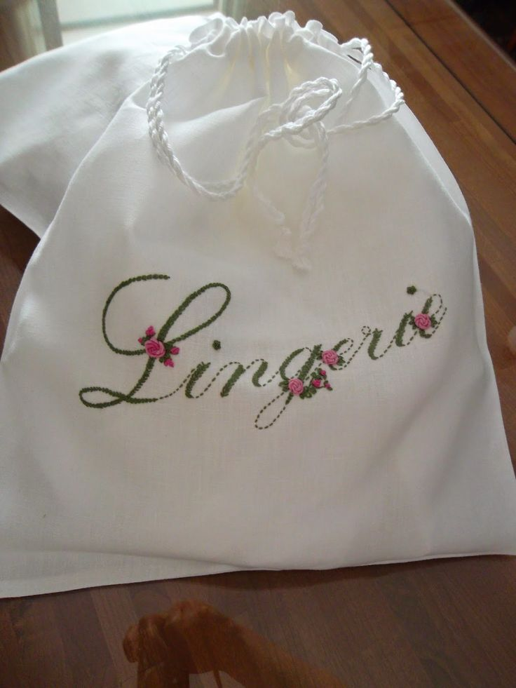Sacchetto lingerie