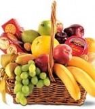Cheese, Fruit and Crackers Gift Basket $45.00