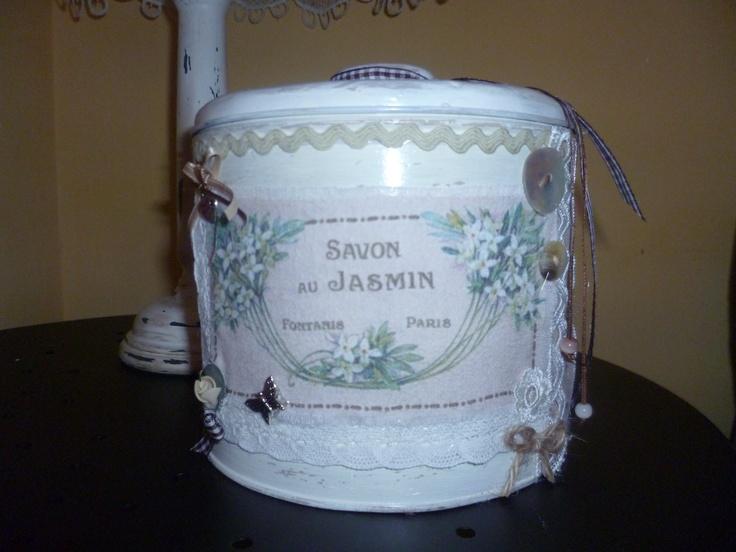 riciclo scatola latta