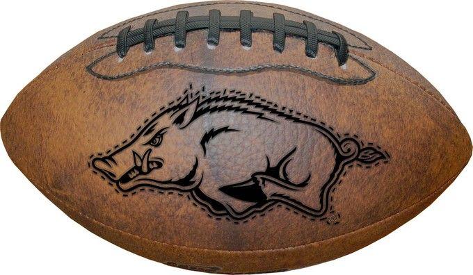 Arkansas Razorbacks Football - Vintage Throwback - 9 Inches Z157-8381371220