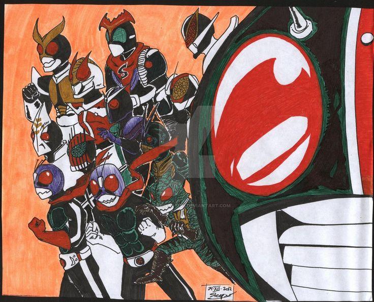 Kamen Riders by sleepinartist on DeviantArt