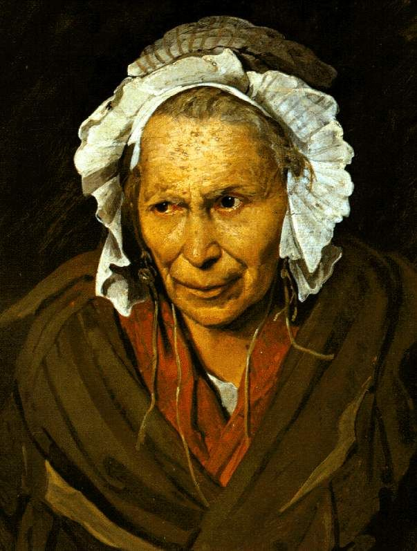The Madwoman (The Obsession of Envy) — Theodore Gericault